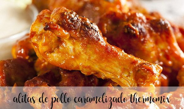 Skrzydełka z kurczaka w sosie karmelowym z Thermomixem