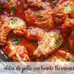 Skrzydełka Kurczaka Z Pomidorem z Thermomixem