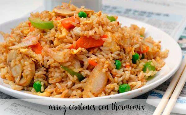 Ryż kantoński z Thermomixem