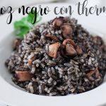 Czarny ryż z termomiksem