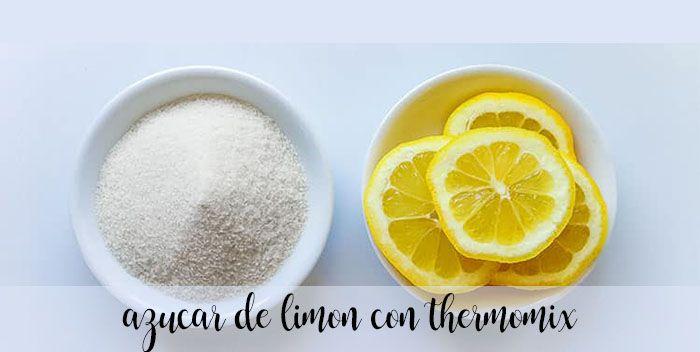 Cukier cytrynowy z termomiksem