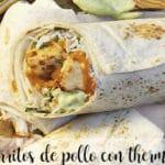 Burrito z kurczaka z termomiksem