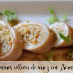 Kalmary faszerowane ryżem z Thermomixem
