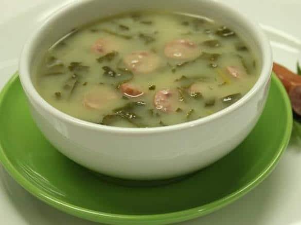 Zupa z zielonej kapusty z Thermomixem