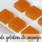 Cukierki żelowe i pomarańczowe z Thermomixem