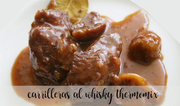 Policzki z whisky z Thermomixem