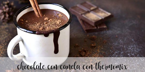 Gorąca czekolada cynamonowa z termomiksem