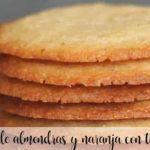Ciasteczka migdałowo-pomarańczowe z Thermomixem