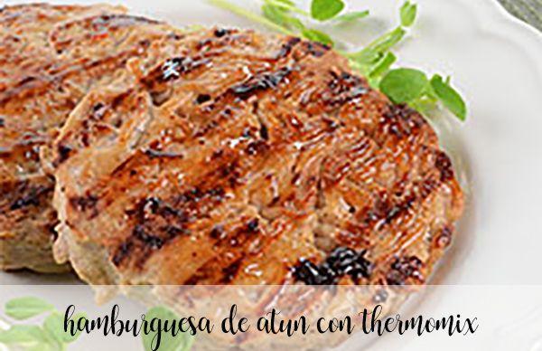 Burger z tuńczyka z Thermomixem