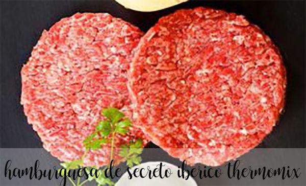 Iberyjski tajny hamburger z Thermomixem