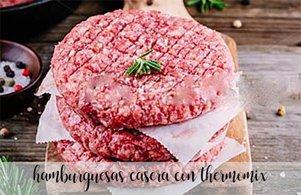 Domowy burger z termomiksem