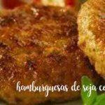 Warzywne burgery sojowe