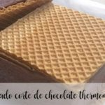 Lody pokrojone w czekoladę z termomiksem