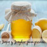 Syrop Cytrynowy i Imbirowy zapobiegający przeziębieniom