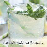 Lemoniada arabska z miętą z Thermomixem