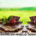 Millefeuille czekoladowe z musem nugatowym z termomiksem