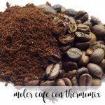 Zmiel kawę za pomocą Thermomixa