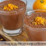 Mus czekoladowo-pomarańczowy z Thermomixem
