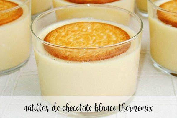 Krem z białej czekolady z termomiksem