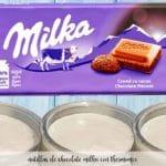 krem czekoladowy mleczny z termomiksem