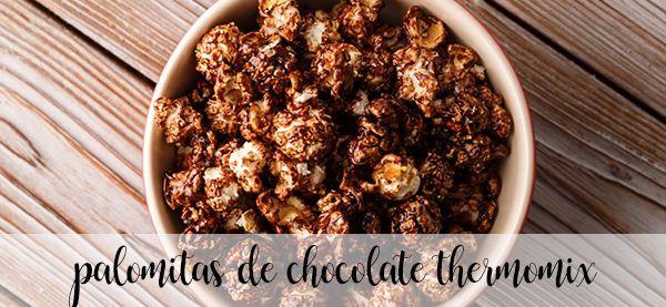 Popcorn czekoladowy z termomiksem