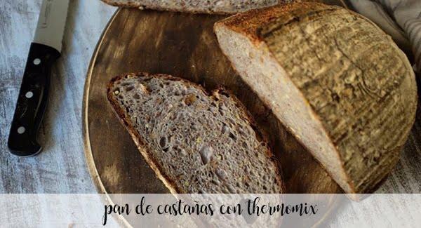 Chleb kasztanowy z Thermomixem