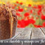 Panettone z czekoladą i pomarańczą z Thermomixem