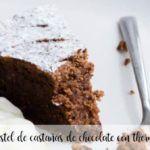 Ciasto czekoladowe kasztanowe z termomiksem