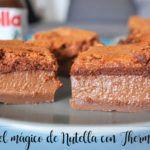 Magiczne ciasto Nutella z Thermomixem