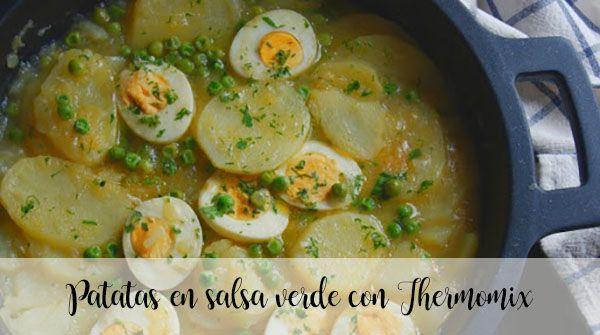 Ziemniaki w zielonym sosie z Thermomixem