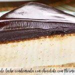 stopa mleka skondensowanego z czekoladą z termomiksem