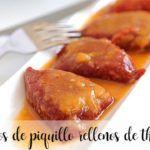 Papryczki Piquillo nadziewane termomiksem