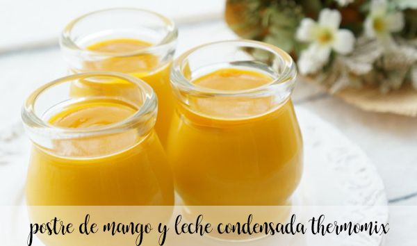 Deser z mango i mleka skondensowanego z Thermomixem