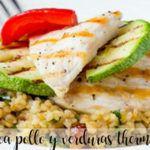 Komosa ryżowa z kurczakiem i warzywami z termomiksem