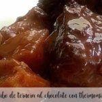 Ogon wołowy w sosie czekoladowym z Thermomixem