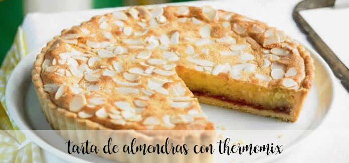 Ciasto migdałowe z Thermomixem