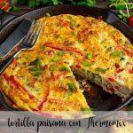 Hiszpański omlet z Thermomixem