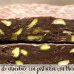 nugat czekoladowy z pistacjami z termomiksem