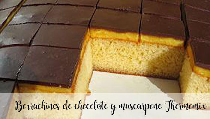 Bujny Thermomix czekoladowo-mascarpone