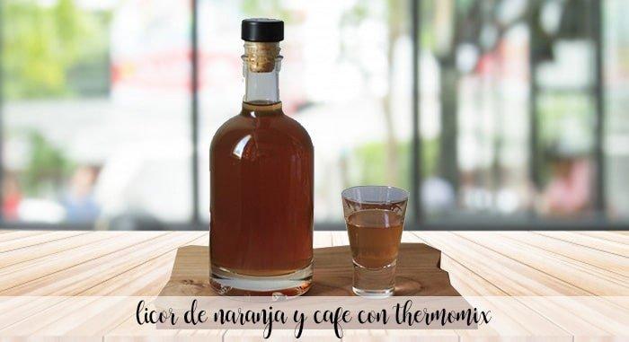 Likier pomarańczowy i kawa z termomiksem