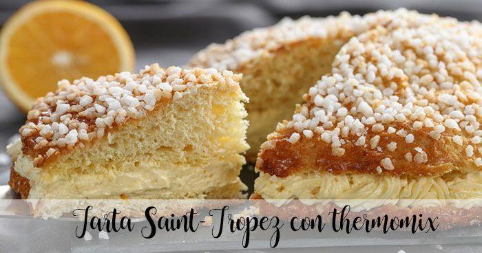 Ciasto Saint-Tropez z termomiksem