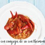 Ryż z krabami rzecznymi z termomiksem