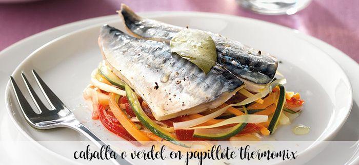 Makrela lub papilot makrela al z thermomixem