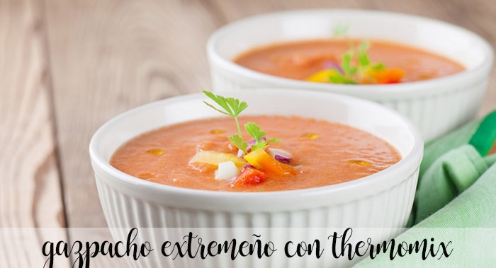 Gazpacho z Estremadury z termomiksem