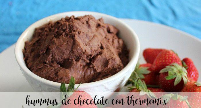 Hummus czekoladowy z Thermomixem