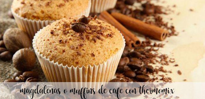 Babeczki lub muffinki kawowe z termomiksem
