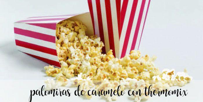 Popcorn karmelowy z Thermomixem