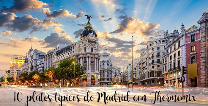 15 typowych dań Madrytu z Thermomixem