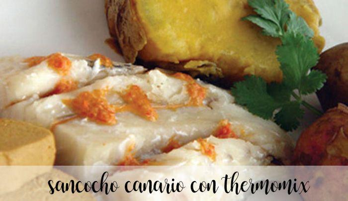 Kanaryjskie Sancocho z Thermomixem