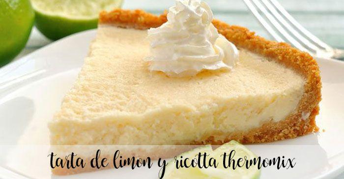 Ciasto cytrynowo-ricotta z termomiksem